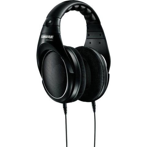 Shure SRH1440 Professional Open Back Headphones | Black SRH140