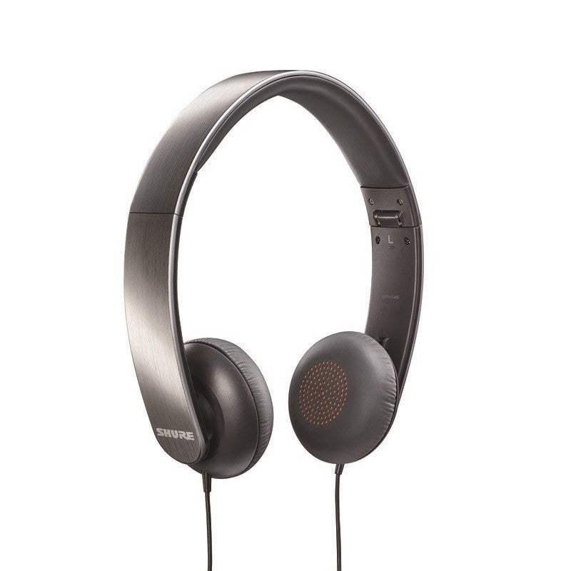 Shure SRH145 Portable Collapsible Headphones | Nickel Plated SRH145