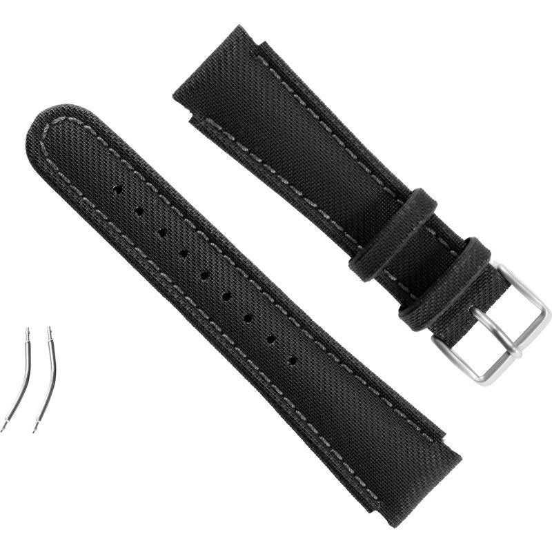 Suunto X-Lander Synthetic Strap Kit | Black