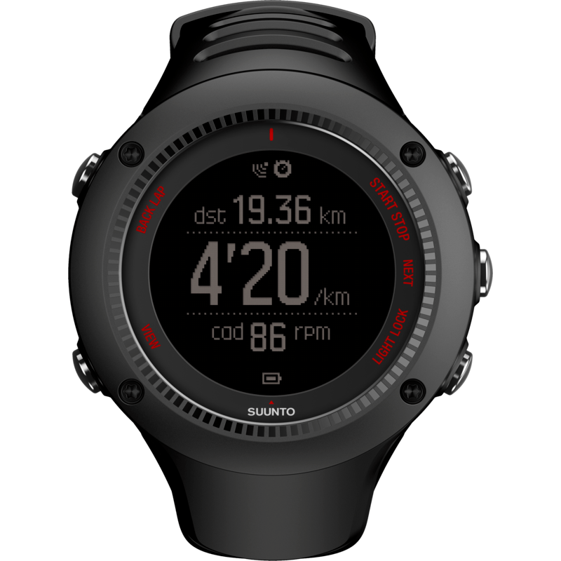 Suunto Ambit3 Run HR Fitness Watch | Black SS021257002
