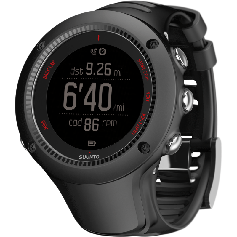 Suunto Ambit3 Run HR Fitness Watch | Black SS021257000