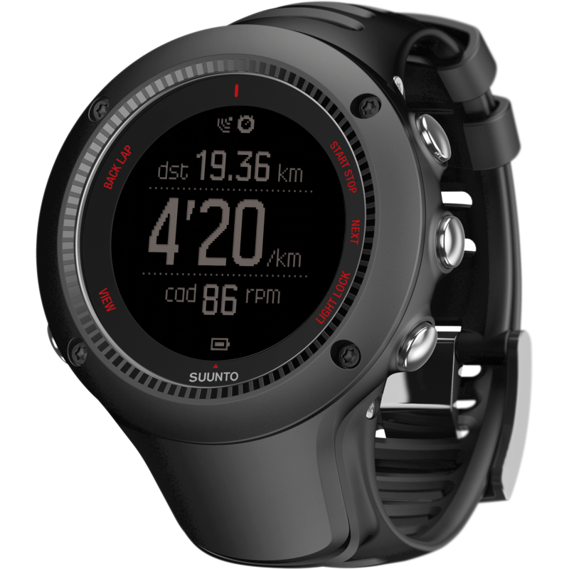 Suunto Ambit3 Run HR Fitness Watch | Black SS021257003