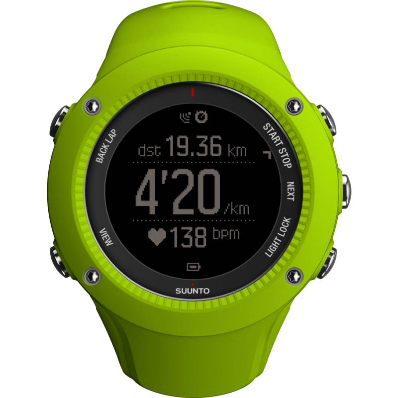 Suunto Ambit3 Run Fitness Watch | Lime SS021260000