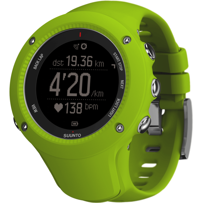 Suunto Ambit3 Run HR Fitness Watch | Lime SS021261000