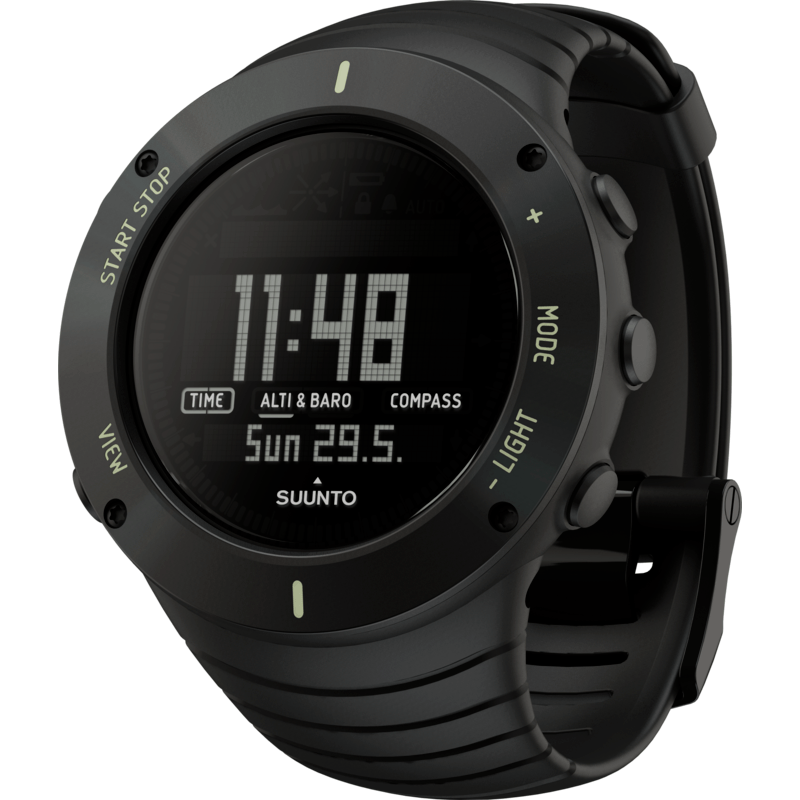 Suunto Core Multi-Function Outdoor Watch | Ultimate Black