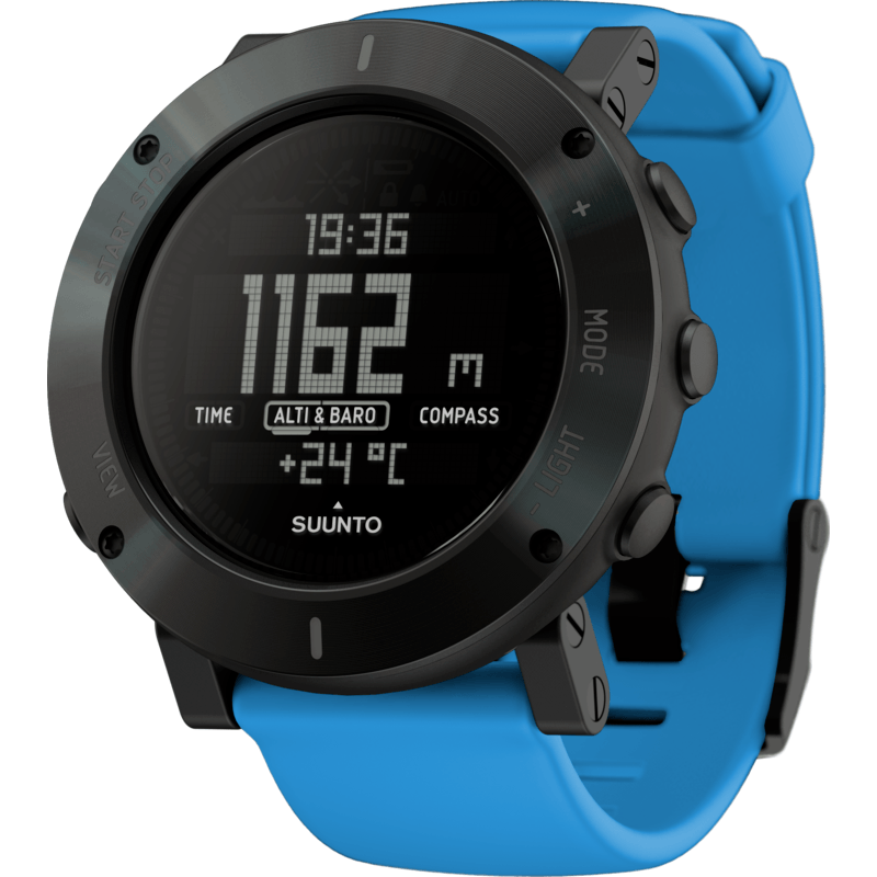 Suunto Core Multi-Function Outdoor Watch | Blue Crush