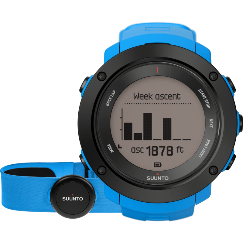 Suunto Ambit3 Vertical HR Watch Bundle | Blue SS021968000