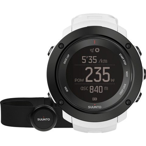 Suunto Ambit3 Vertical HR Watch Bundle | White SS021966000