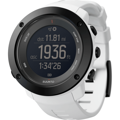 Suunto Ambit3 Vertical Watch | White SS021967000