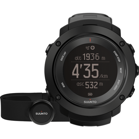 Suunto Ambit3 Vertical HR Watch Bundle | Black SS021964000