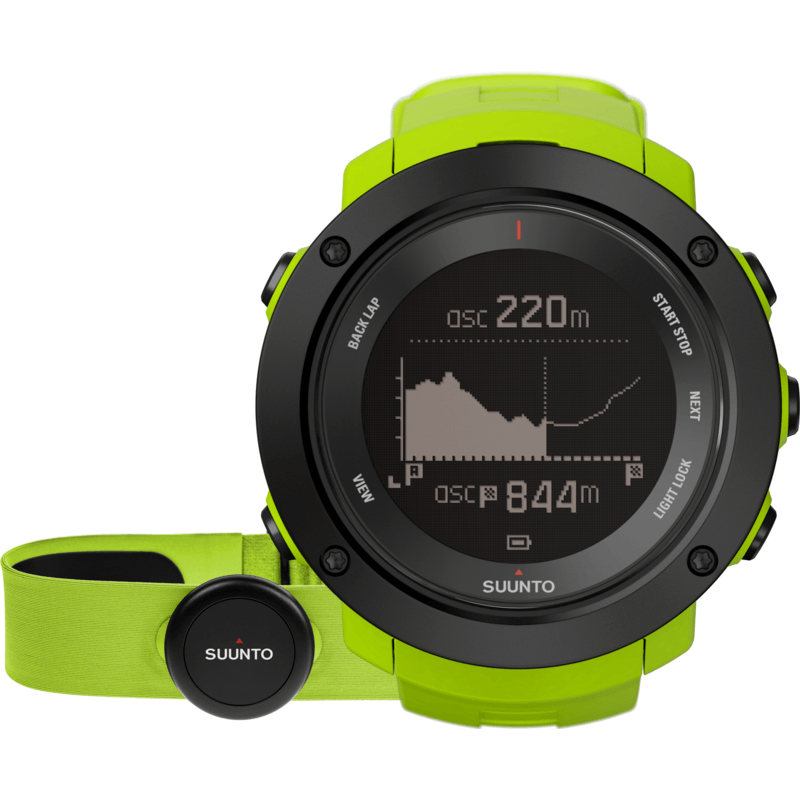 Suunto Ambit3 Vertical HR Watch Bundle | Lime SS021970000