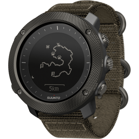 Suunto Traverse Alpha GPS Watch | Foliage SS022292000