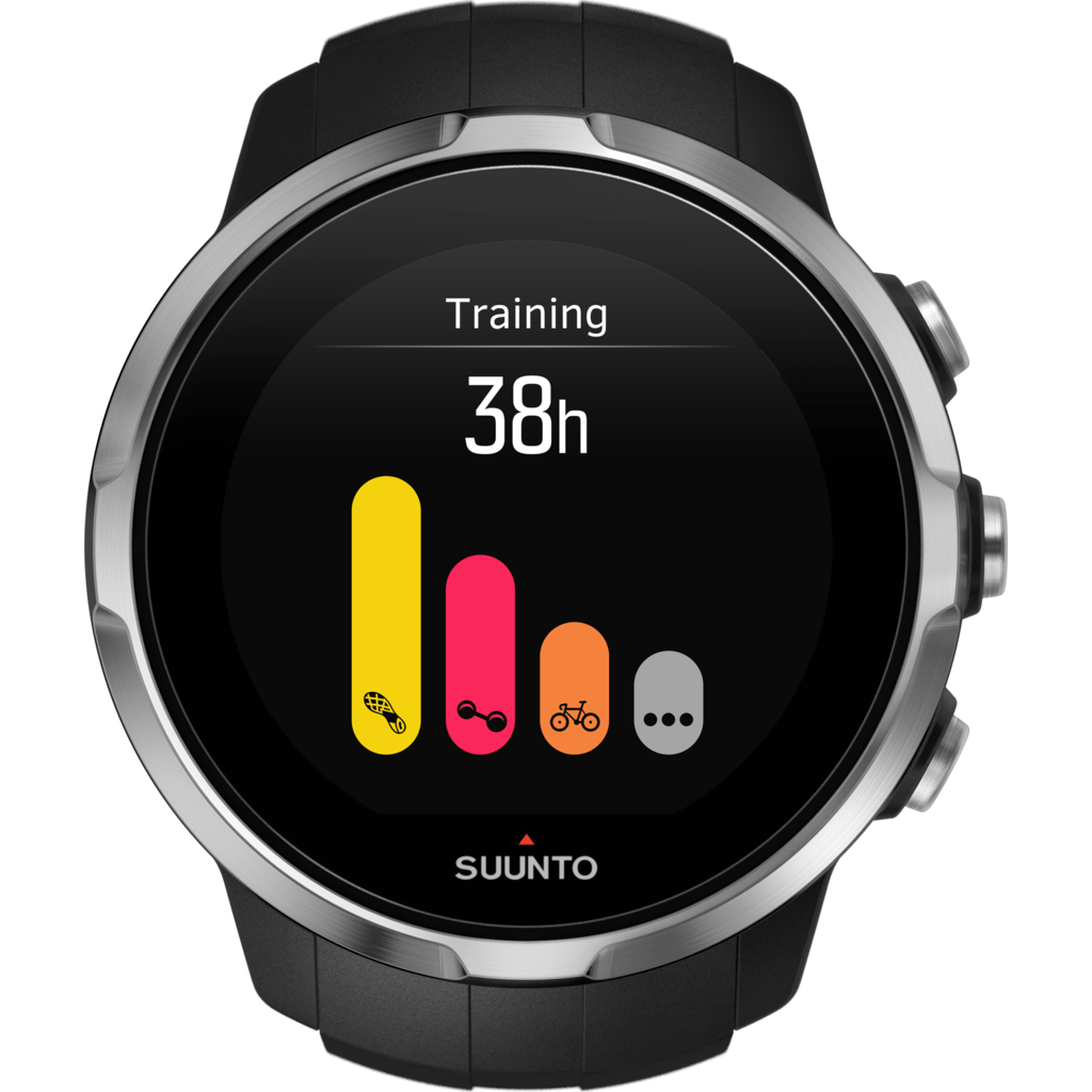 Suunto Spartan Sport Multisport GPS Watch | Black SS022649000
