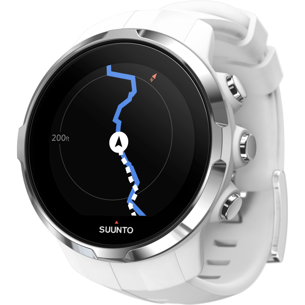Suunto Spartan Sport Multisport GPS Watch HR Bundle | White SS022650000