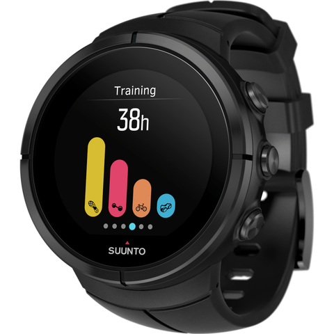 Suunto Spartan Ultra Multisport GPS Watch | Black Titanium SS022655000
