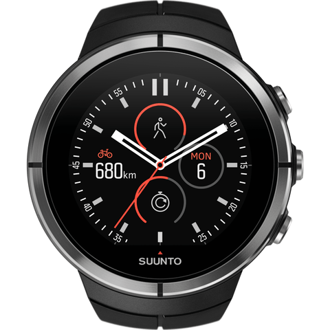 Suunto Spartan Ultra Multisport GPS Watch | Black SS022659000