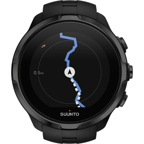 Suunto Spartan Sport HR Multisport GPS Watch | Black SS022662000