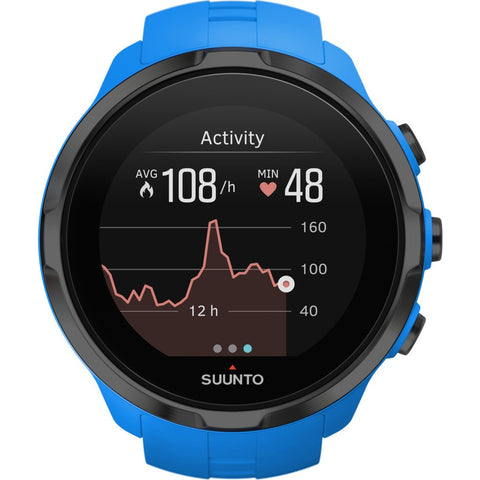 Suunto Spartan Sport Wrist HR Multisport GPS Watch | Blue