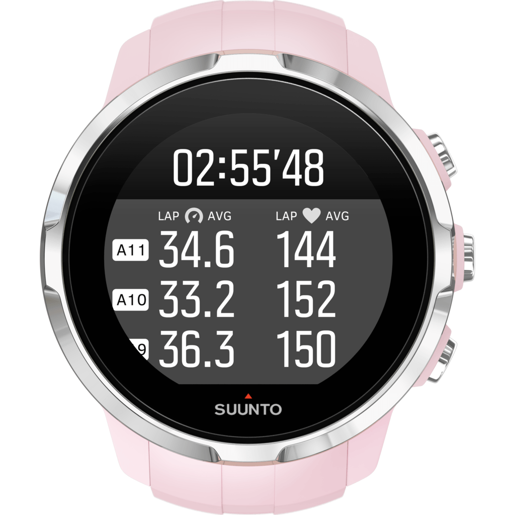 Suunto Spartan Sport Multisport GPS Watch HR Bundle | Sakura SS022673000
