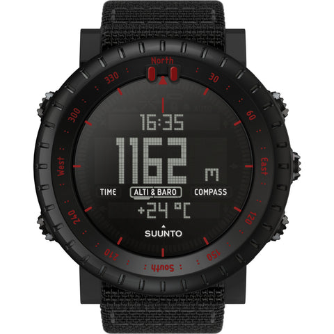 Suunto Core Sports Watch | Black/Red