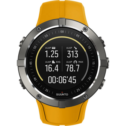 Suunto Spartan Trainer Wrist Hr Multisport GPS Watch | Amber