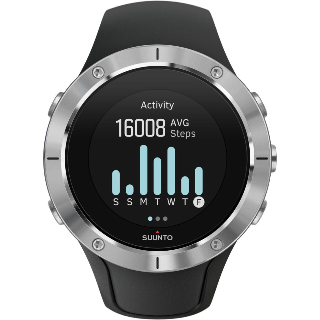 Suunto Spartan Trainer Wrist Hr Multisport GPS Watch | Steel SS023425000