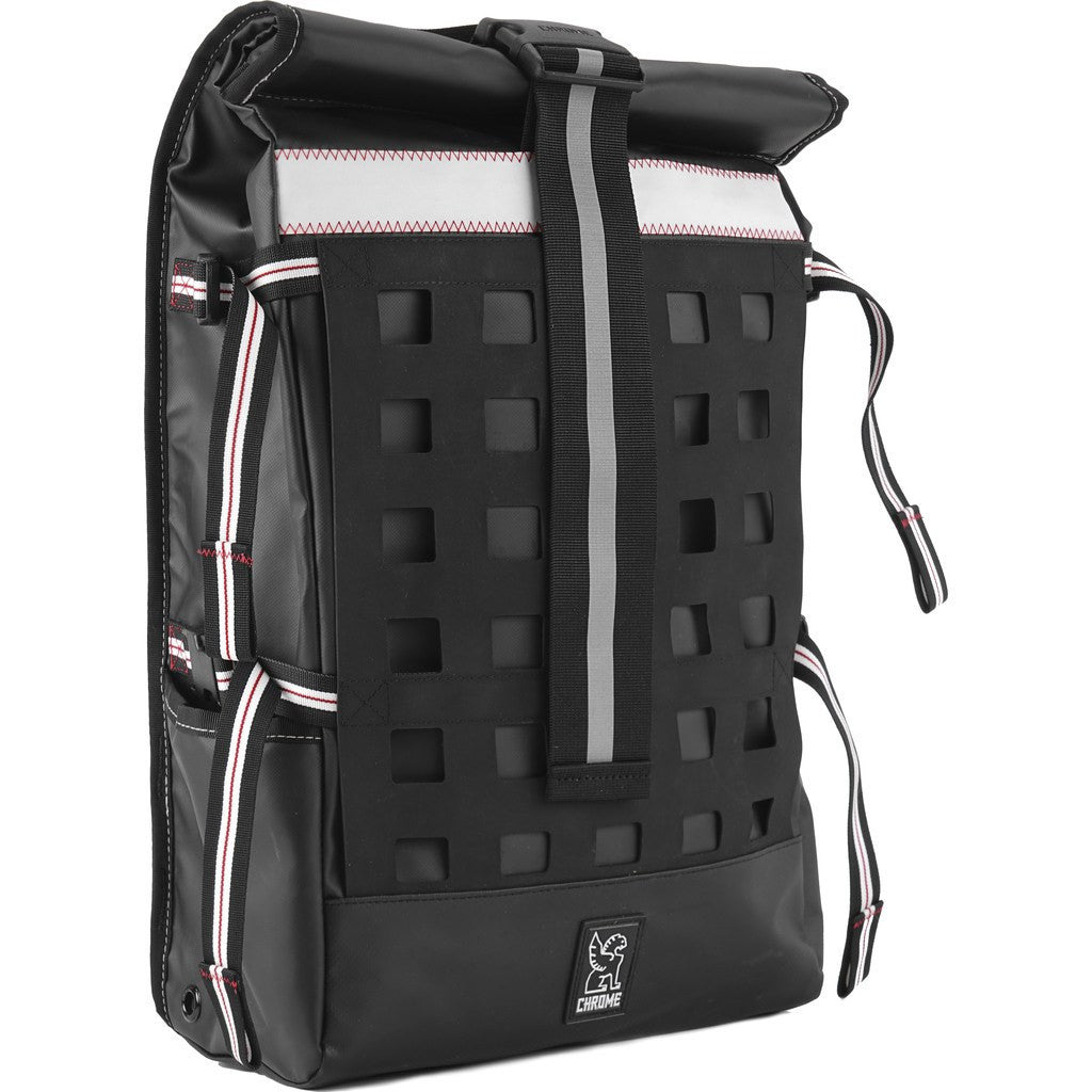 Chrome Rubberized Barrage Cargo Backpack | Black BG-163-BKSF