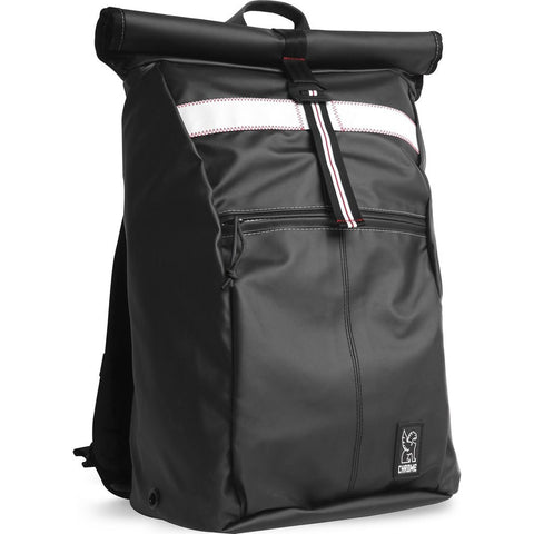 Chrome Rubberized Yalta 2.0 Backpack | Black BG-188-BKSF
