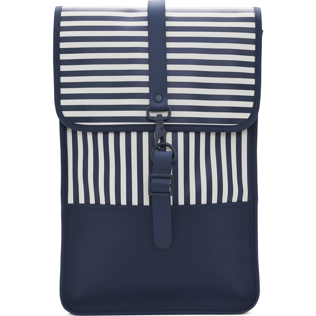 Rains LTD Backpack Mini | Distorted Stripes