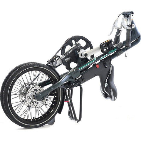 STRiDA SX Folding Bicycle | Matte Black ST1802-1-MI