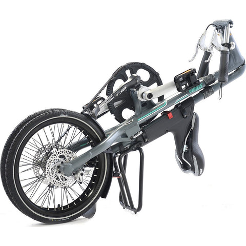 STRiDA SX Folding Bicycle | Matte Grey ST1804-1-MI