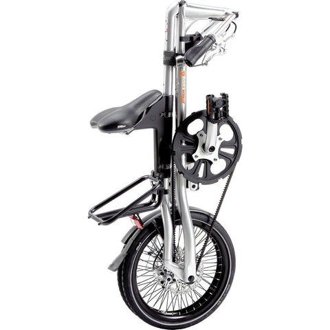 STRiDA EVO Folding Bicycle Brushed Silver ST1814-1-MI