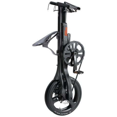 STRiDA C1 Folding Bicycle | Matte Black ST1816-1-MI