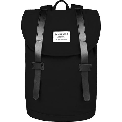 Sandqvist Stig Mini Backpack | Black SQA710