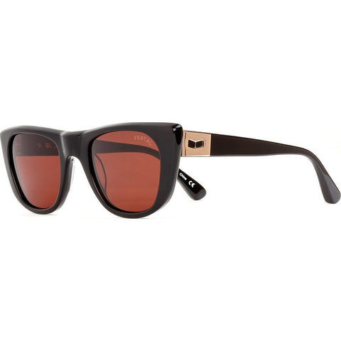 Vestal St. Jane Sunglasses | Black/Rosegold/Brown Polazrized VVSJ019