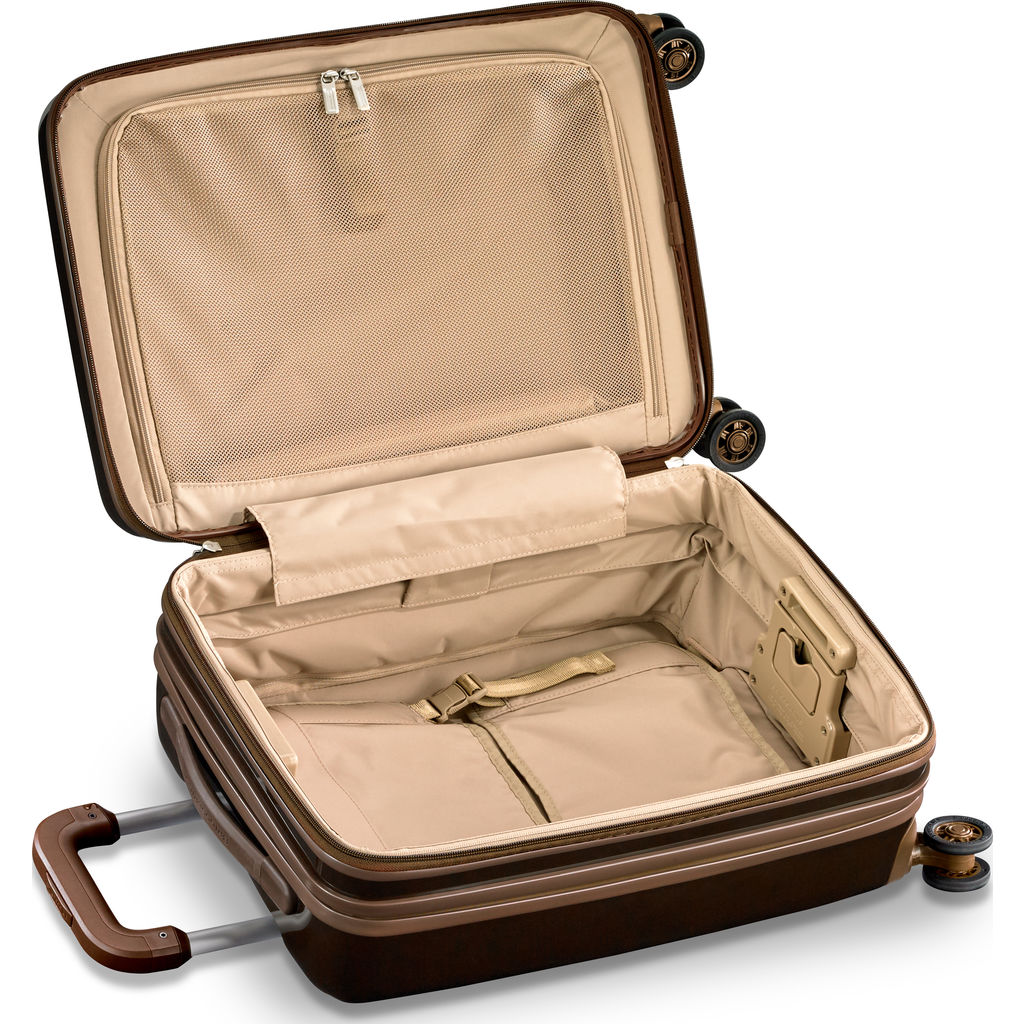 Briggs & Riley International Carry-On Expandable Spinner Suitcase | Bronze
