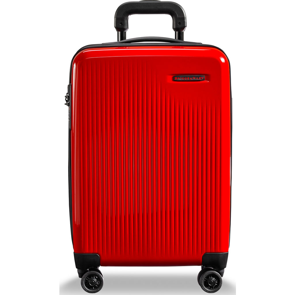 Briggs & Riley Sympatico International Carry-On Expandable Spinner Suitcase | Fire