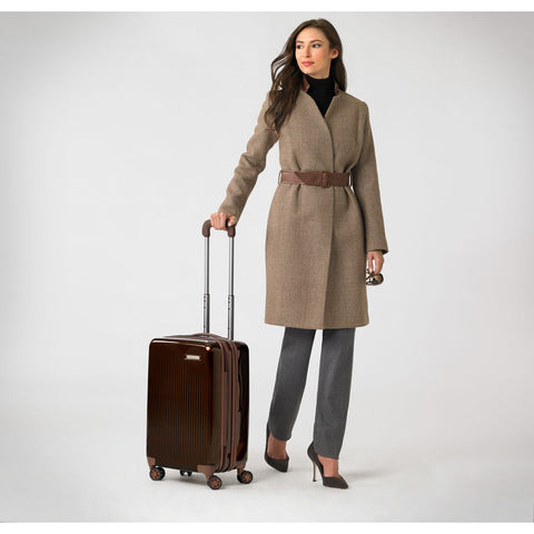 Briggs & Riley Domestic Carry-On Expandable Spinner Suitcase | Bronze