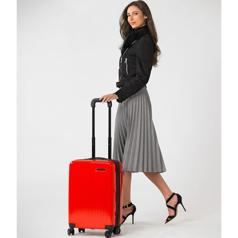 Briggs & Riley Domestic Carry-On Expandable Spinner Suitcase | Fire