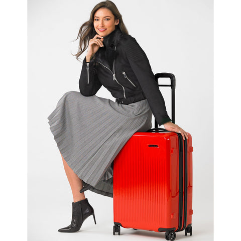 Briggs & Riley Sympatico Medium Expandable Spinner Suitcase | Fire