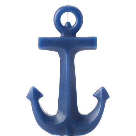 Sunnylife Anchor Candle Large | Medieval Blue