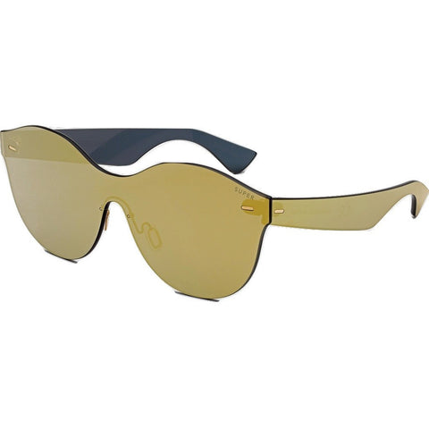 Retrosuperfuture Tuttolente Mona Sunglasses | Gold JLO