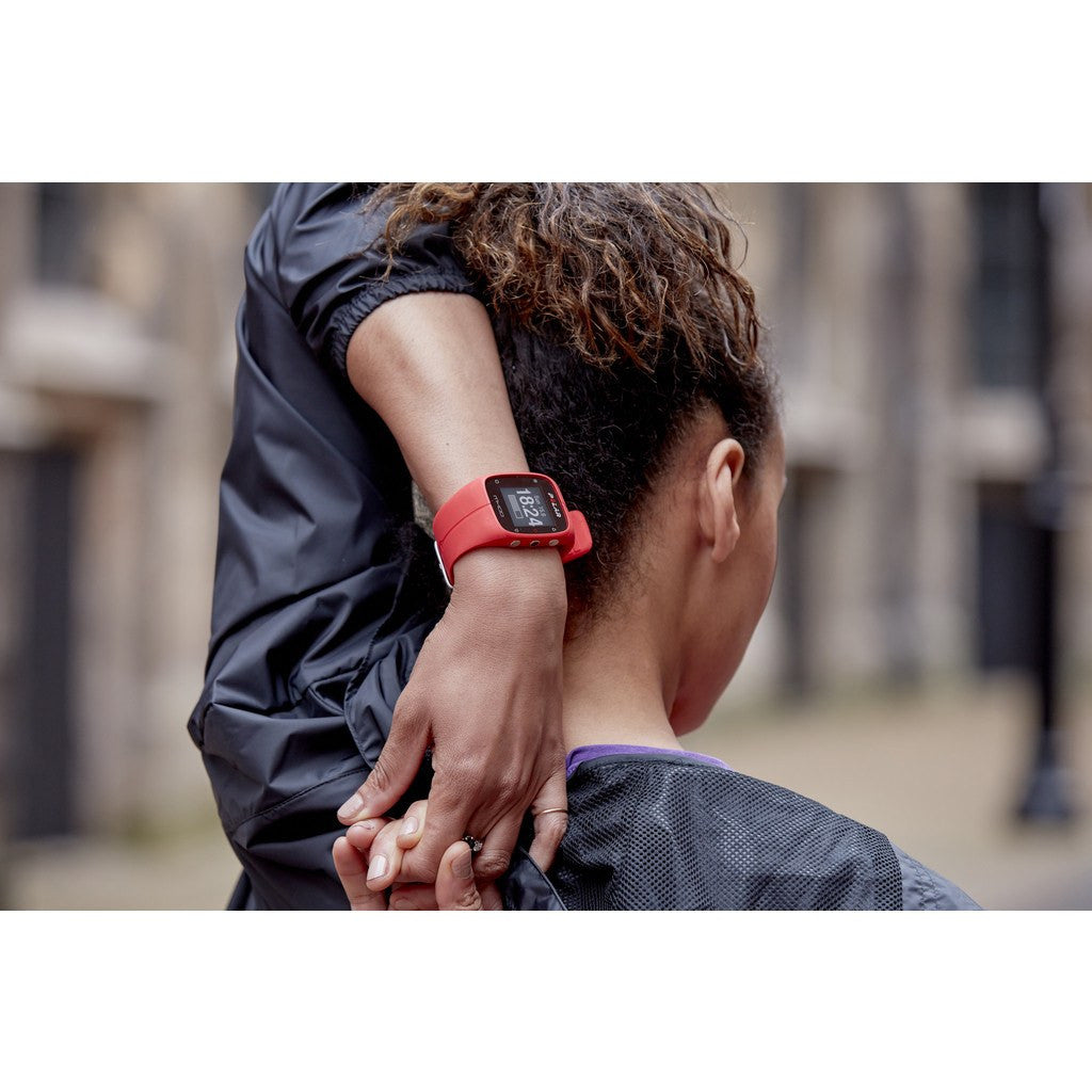 Polar M400 HR GPS Activity Tracker Watch | Red 90061175