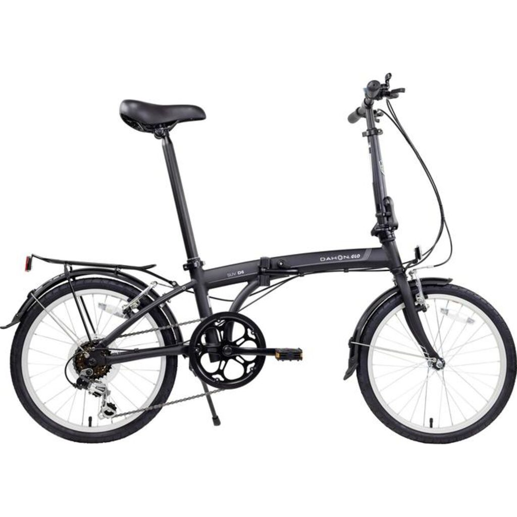 Dahon SUV D6 Foldable Bike | Black