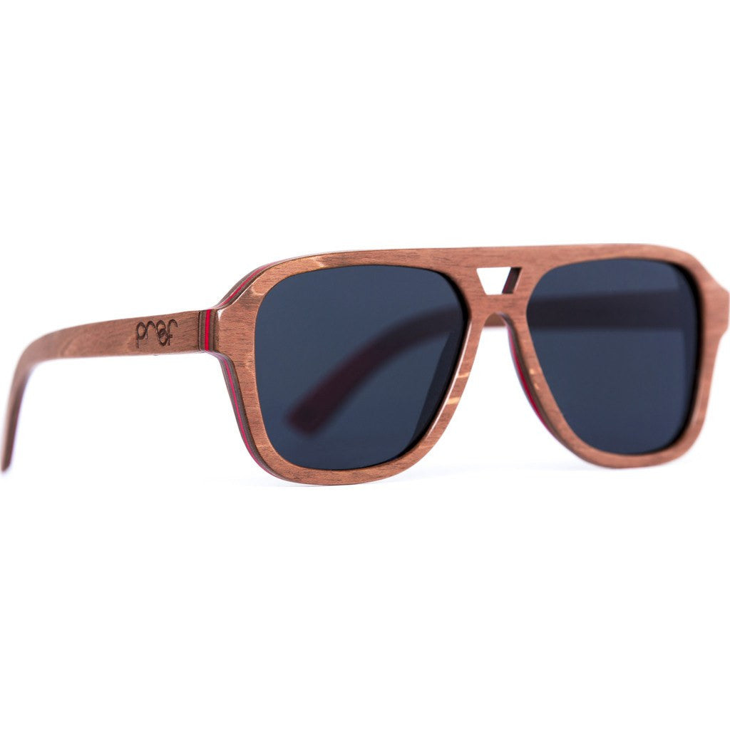 Proof Donner Skate Sunglasses | Brown/Polarized