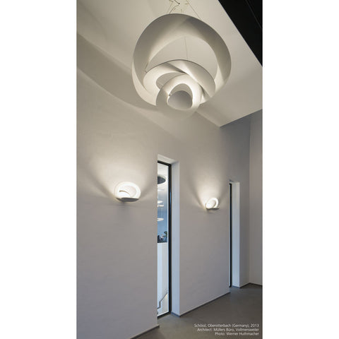 Artemide Pirce LED Micro Wall Lamp | White