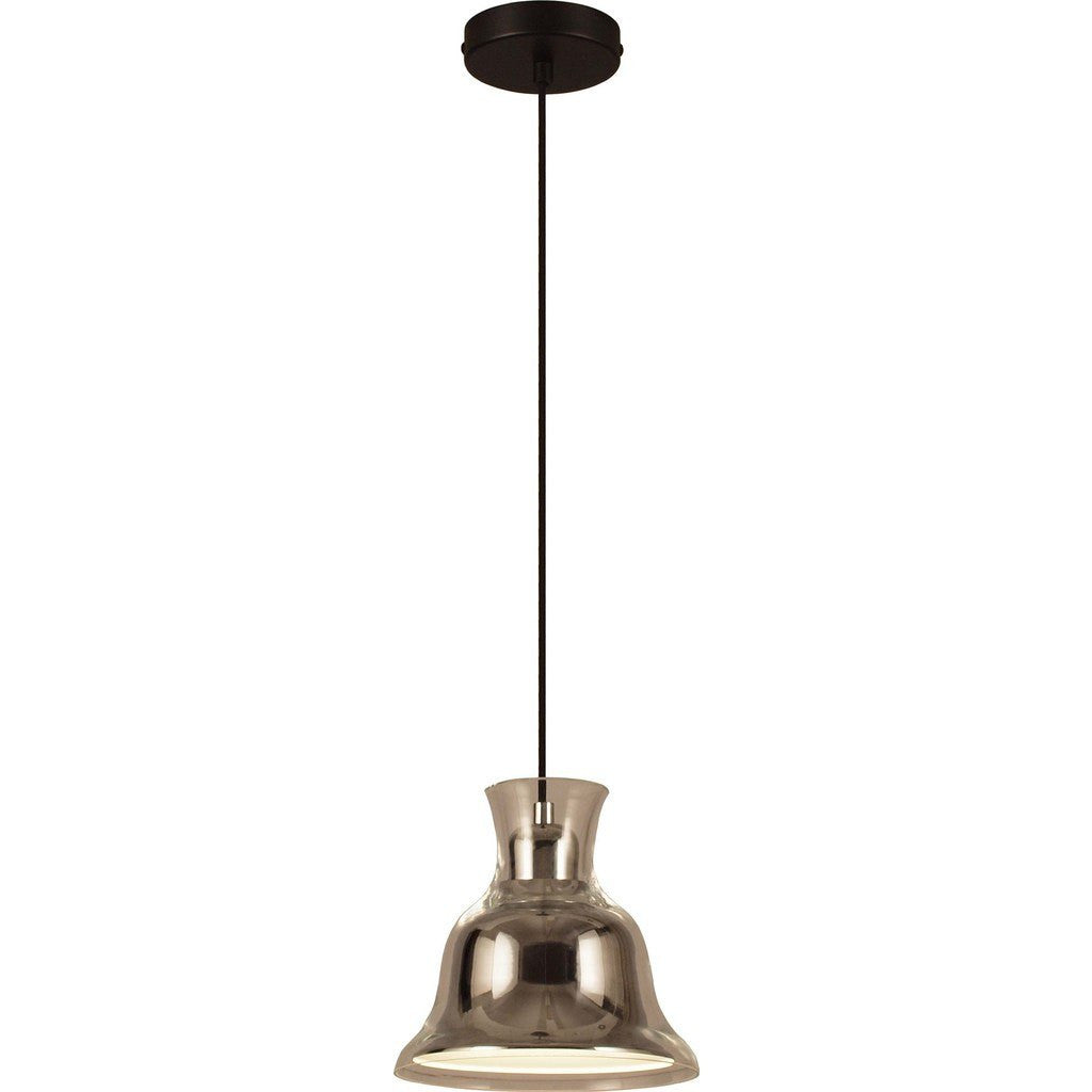 Seed Design Salute Bell Pendant Lamp | Chrome SQ-827PR-CRM