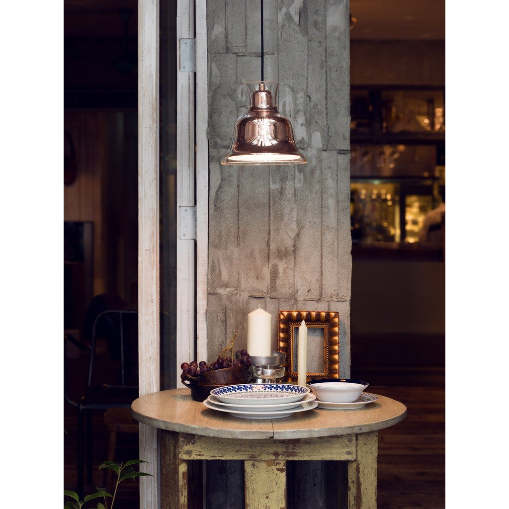 Seed Design Salute Bell Pendant Lamp | Copper SQ-827PR-CPR