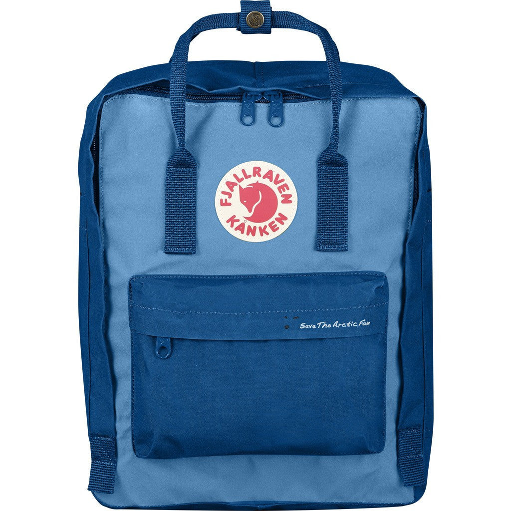 Fjallraven Save the Arctic Fox Kanken Backpack | Lake Blue/Air Blue F23495-539-508