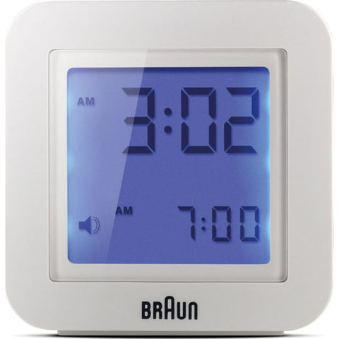Braun C018 Digital LCD Travel Clock